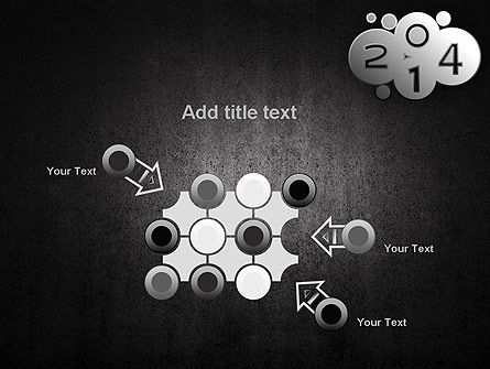 Metal Style 2014 PowerPoint Template Slide 10