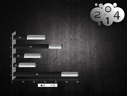 Metal Style 2014 PowerPoint Template Slide 11