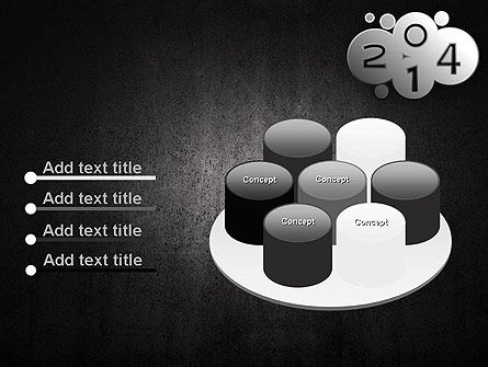 Metal Style 2014 PowerPoint Template Slide 12