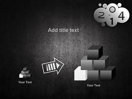 Metal Style 2014 PowerPoint Template Slide 13