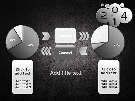 Metal Style 2014 PowerPoint Template Slide 16
