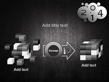 Metal Style 2014 PowerPoint Template Slide 17