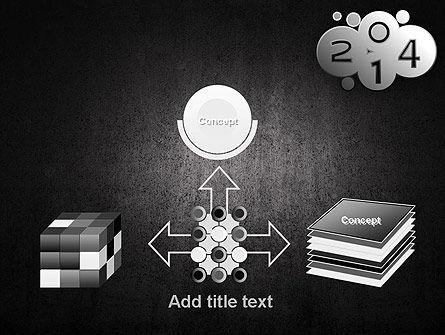 Metal Style 2014 PowerPoint Template Slide 19