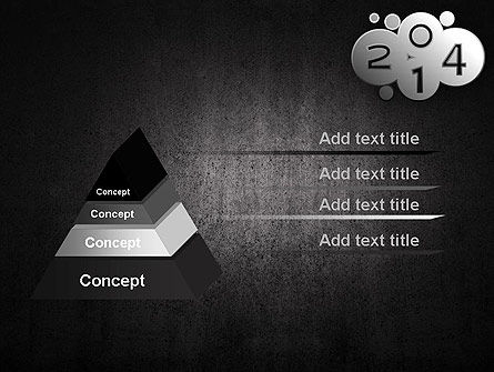 Metal Style 2014 PowerPoint Template Slide 4