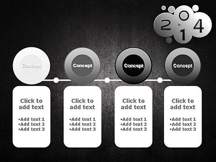 Metal Style 2014 PowerPoint Template Slide 5