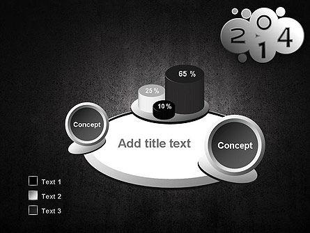 Metal Style 2014 PowerPoint Template Slide 6