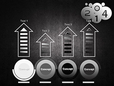 Metal Style 2014 PowerPoint Template Slide 7