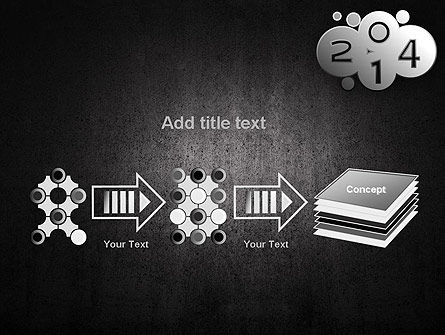 Metal Style 2014 PowerPoint Template Slide 9