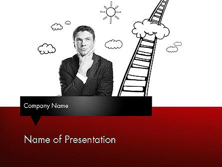 Careers/Industry: Leadership Thinking PowerPoint Template #11606