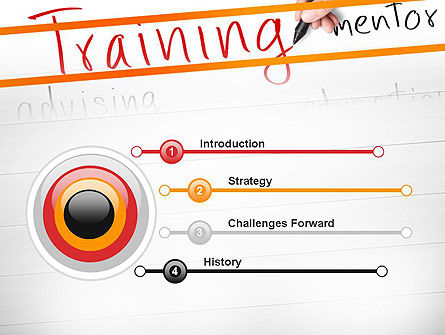 Training Plan PowerPoint Template, Slide 3, 11607, Education & Training — PoweredTemplate.com