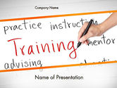 Training Plan PowerPoint Template#1
