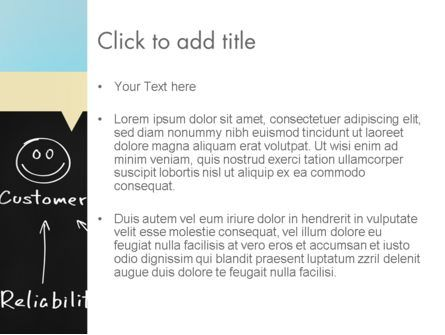 Customer Satisfaction PowerPoint Template, Slide 3, 11608, Education & Training — PoweredTemplate.com