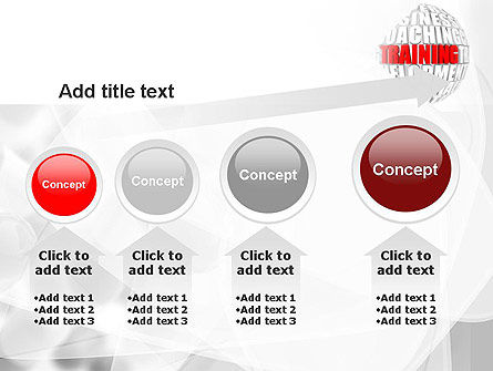 Training and Development Words PowerPoint Template Slide 13