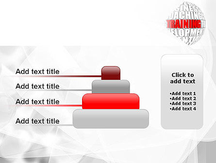 Training and Development Words PowerPoint Template Slide 8