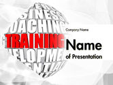 Education & Training: Training and Development Words PowerPoint Template #11609
