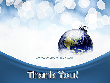A World of Best Wishes Christmas PowerPoint Template Slide 20