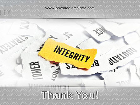 Integrity Concept PowerPoint Template Slide 20