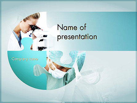Surgical Technology PowerPoint Template, 11613, Medical — PoweredTemplate.com