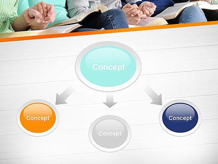 Prayer Group PowerPoint Template Slide 4