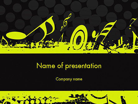 Music Theme PowerPoint Template