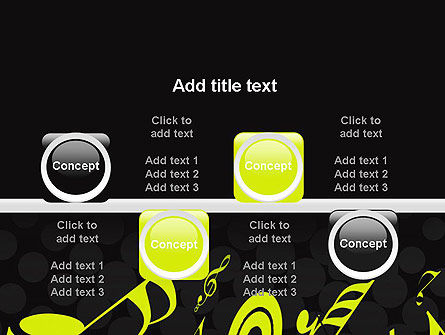 Music Theme PowerPoint Template Slide 18
