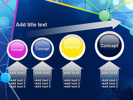 Business Network Concept PowerPoint Template Slide 13
