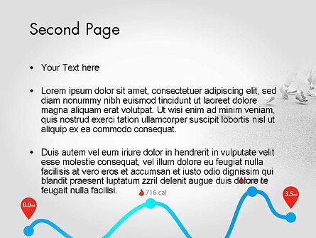 Run Tempo PowerPoint Template, Slide 2, 11622, Sports — PoweredTemplate.com