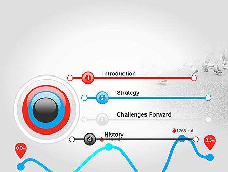 Run Tempo PowerPoint Template, Slide 3, 11622, Sports — PoweredTemplate.com