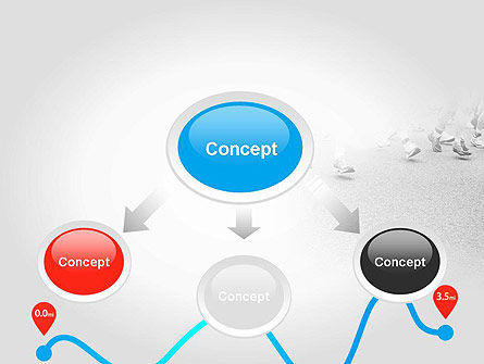 Run Tempo PowerPoint Template, Slide 4, 11622, Sports — PoweredTemplate.com