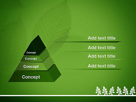 Tree Leaves PowerPoint Template, Slide 4, 11625, Nature & Environment — PoweredTemplate.com