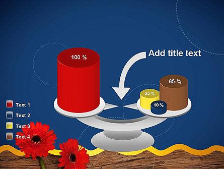 Flowers and Repair Tools PowerPoint Template Slide 10