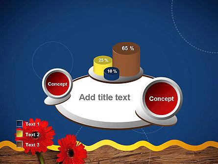 Flowers and Repair Tools PowerPoint Template Slide 16