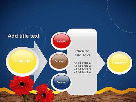 Flowers and Repair Tools PowerPoint Template Slide 17
