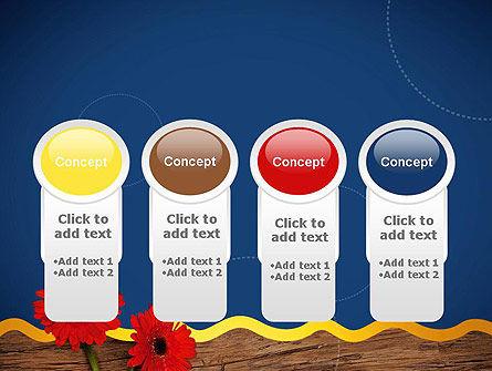 Flowers and Repair Tools PowerPoint Template Slide 5