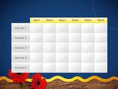 Flowers and Repair Tools PowerPoint Template#15