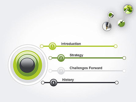 Green Fuel PowerPoint Template, Slide 3, 11631, Technology and Science — PoweredTemplate.com