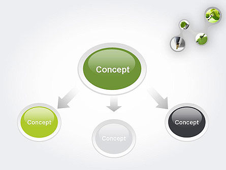 Green Fuel PowerPoint Template, Slide 4, 11631, Technology and Science — PoweredTemplate.com