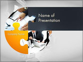 Business: Project Kickoff Meeting PowerPoint Template #11632