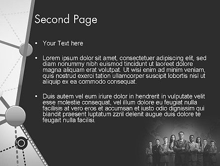 Project Team PowerPoint Template Slide 2