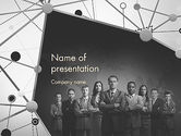Business: Project Team PowerPoint Template #11633