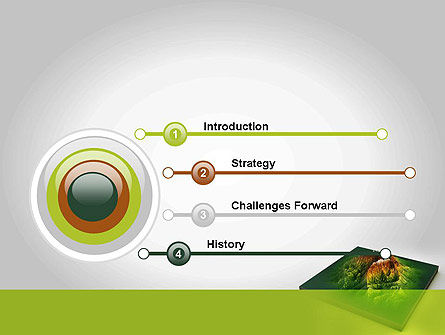 Mountain Model PowerPoint Template, Slide 3, 11636, Nature & Environment — PoweredTemplate.com