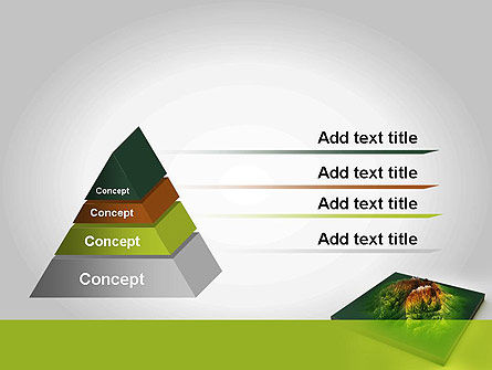 Mountain Model PowerPoint Template, Slide 4, 11636, Nature & Environment — PoweredTemplate.com