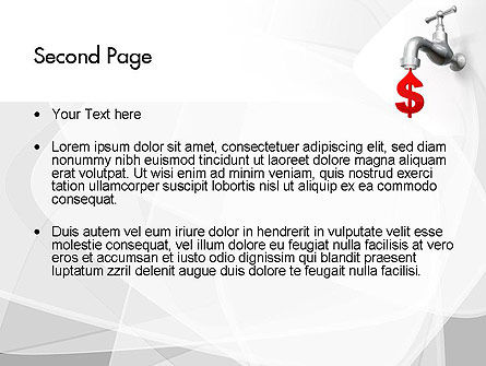 Money Leak PowerPoint Template Slide 2