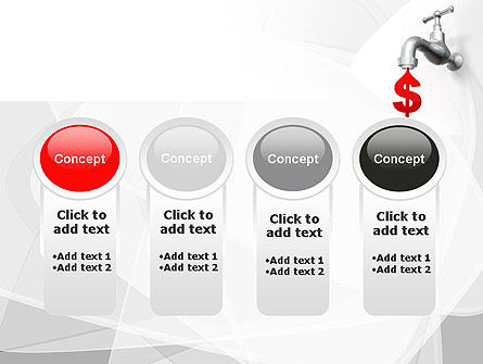 Money Leak PowerPoint Template Slide 5
