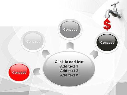 Money Leak PowerPoint Template Slide 7