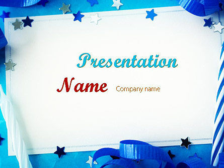 Festive Invitation PowerPoint Template