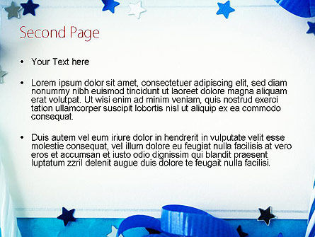 Festive Invitation PowerPoint Template Slide 2