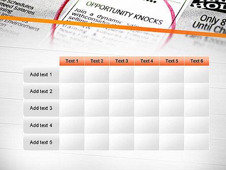 Opportunity Knocks PowerPoint Template Slide 15