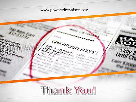 Opportunity Knocks PowerPoint Template Slide 20