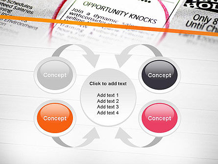 Opportunity Knocks PowerPoint Template Slide 6